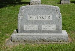 Clarisa <I>Johnson</I> Metsker