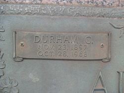 Durham G Austin