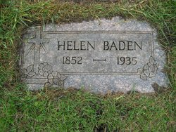 Helena <I>Heidt</I> Baden