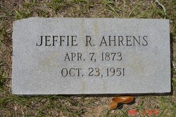 """Jeffsonia """"Jeffie"""" <I>Riley</I> Ahrens"""