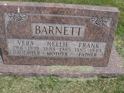 Nellie Pearl <I>Hanks</I> Barnett
