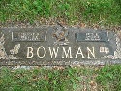 Sgt Clifford Ray Bowman