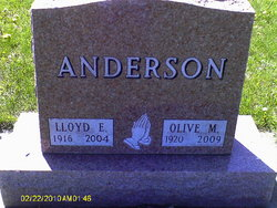 Olive M <I>Heard</I> Anderson