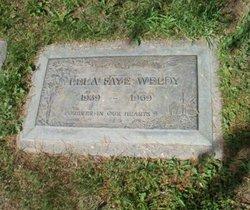 Lela Faye <I>Hart</I> Weldy