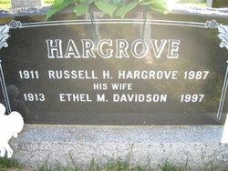 Ethel <I>Davidson</I> Hargrove