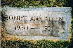 Bobbye Ann Allen