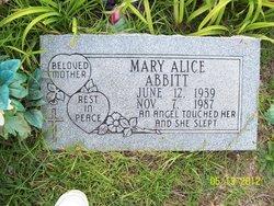 Mary Alice Abbitt