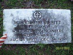 William McKinley Abbitt