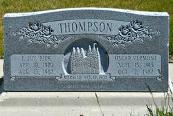 Oscar Vermont Thompson