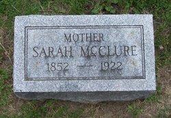 Sarah <I>Gillan</I> McClure