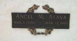 Angel M Alava