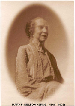 Smith And Kerns >> Mary S Nelson Kerns (1860-1926) - Find A Grave Memorial