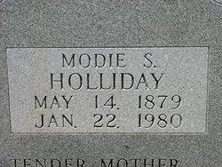 Modie S <I>Strahan</I> Holliday