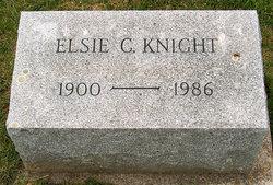 Elsie C <I>Kuehner</I> Knight