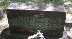 Mary E. <I>Waite</I> Appleton