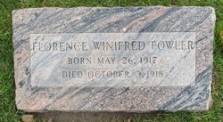 Florence Winifred Fowler