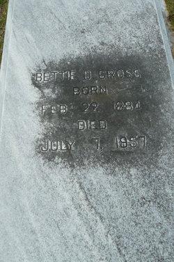 Bettie D. Cross
