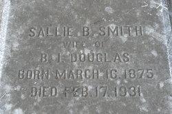 Sallie B. <I>Smith</I> Douglas