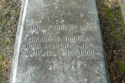 Fannie Caroline <I>Miles</I> Douglas