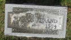 Marion Mae <I>Hamilton</I> Aurand