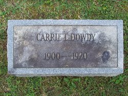 Carrie Lee Dowdy
