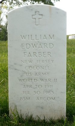 Col William Edward Farber