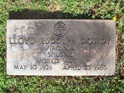 Lloyd Rudolph Dowdy