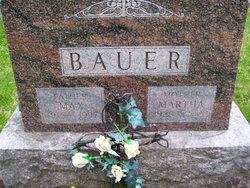 Martha Olivia <I>Fuchs</I> Bauer