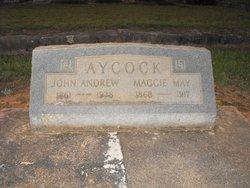 Maggie May <I>Morgan</I> Aycock
