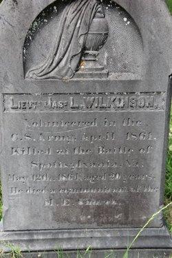 Lieut James Leonidas Wilkinson
