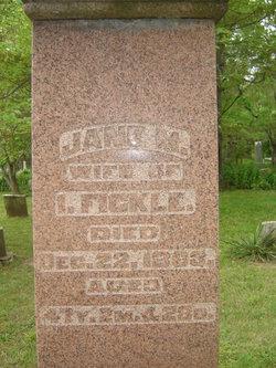 Jane M. <I>Miller</I> Fickle