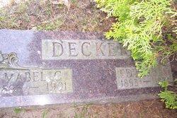 Mabel Catherine <I>Ruff</I> Decker
