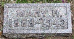 """Mary Helen """"Minnie"""" <I>Cutts</I> Hutchinson"""