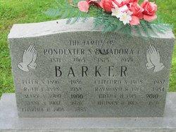 Pondexter Scott Barker