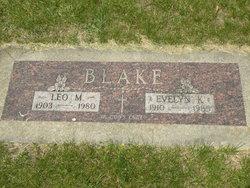 Evelyn K <I>May</I> Blake
