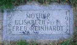 Elisabeth <I>Rupp</I> Reinhardt