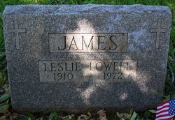 Leslie Lowell James