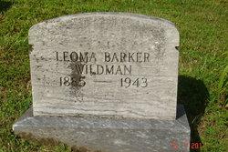 Leoma <I>Barker</I> Wildman