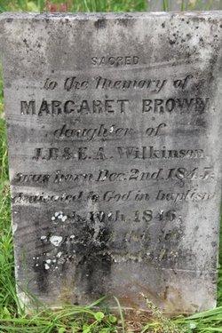 Margaret Brown Wilkinson