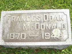 Frances Marie <I>Doan</I> McDonald