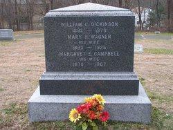 Mary Helena <I>Wagner</I> Dickinson