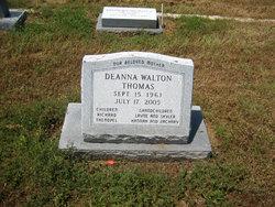 Deanna <I>Walton</I> Thomas