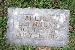 Allice <I>Hull</I> Clemmons
