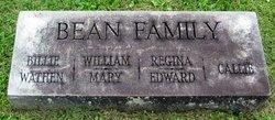 """William Polycarp Chazelle """"Billie"""" Bean"""