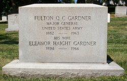MG Fulton Quintus Cincinnatus Gardner