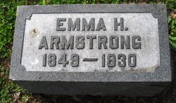 Emma <I>Henderson</I> Armstrong
