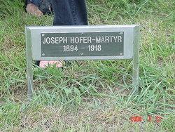 Joseph Hofer