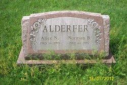 Alice G. <I>Nyce</I> Alderfer