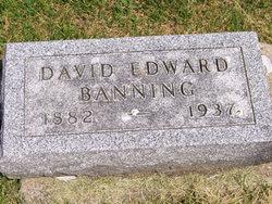 David Edward Banning