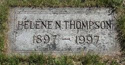Helene N <I>Krag</I> Thompson